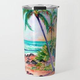 Cottage on the Beach Travel Mug