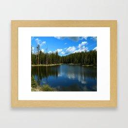 Tranquil Morning At Gull Point Drive Framed Art Print
