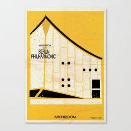 Berlin-Philharmonic- Canvas Print