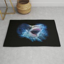 Shark Attack Rug