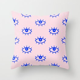 EYES V Throw Pillow