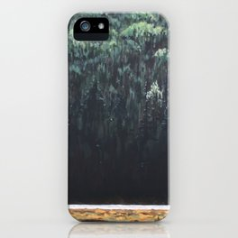 Along the Tim, Algonquin Park iPhone Case