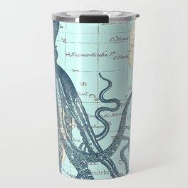 Map Octopus Travel Mug