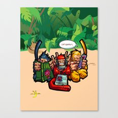 The Three Wise Monkeys Canvas Print