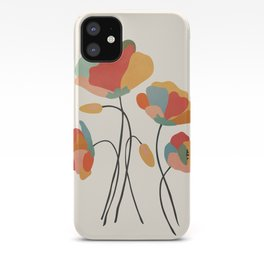 Colorful Flowers iPhone Case