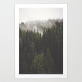 Clearwater Ridge Art Print