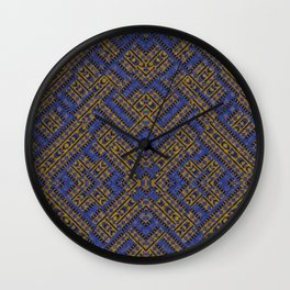 Blue Tribe Wall Clock