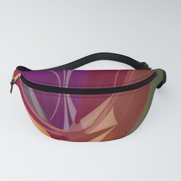 polynomial pattern -1- Fanny Pack