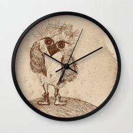 Tough Chick Wall Clock