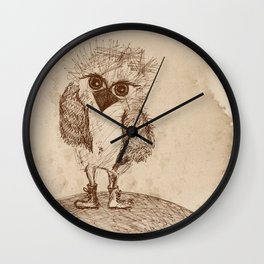 Tough Chick Wall Clock