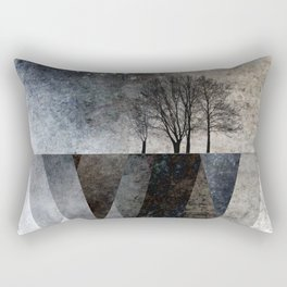 TREES over MAGIC MOUNTAINS I Rectangular Pillow