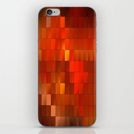 light squares iPhone & iPod Skin