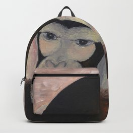Kikazaru - 3 wise monkeys  Backpack