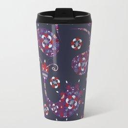 Paisley background Travel Mug