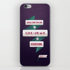 Romans 12:18 iPhone & iPod Skin