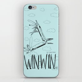 Win Win Bird iPhone Skin