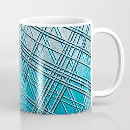Steel Blue Sky Lines Coffee Mug