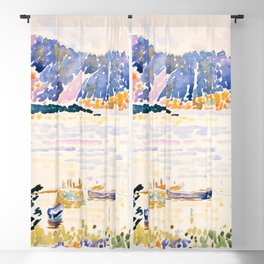 "Henri-Edmond Cross ""Cap Nègre"" Blackout Curtain"