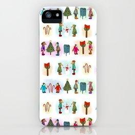 Cozy Kid Unicorns Pattern iPhone Case