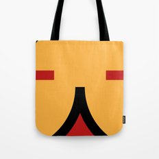 face 9 Tote Bag