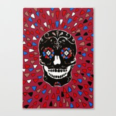 SKULL NO CRY. Canvas Print