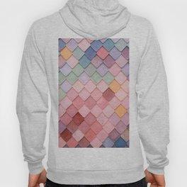Pink Tiles (Color) Hoody