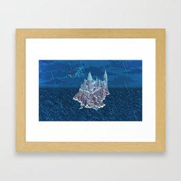 Hogwarts series (year 6: the Half-Blood Prince) Framed Art Print