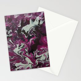 Abstract painting Stationery Cards