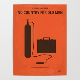 No253 My No Country for Old men mmp Poster