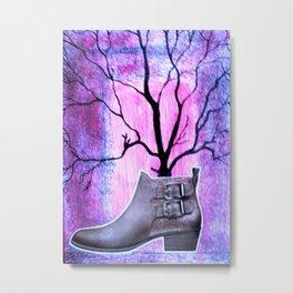 The Magic Boot Metal Print