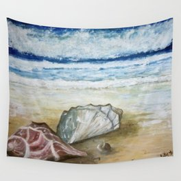 Sea Shells by the Sea Shore Wall Tapestry