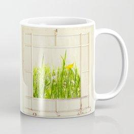 Spring window sampler Coffee Mug