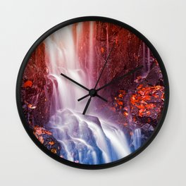 Avalon Fantasy Falls Wall Clock