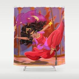 Dance Dance Dance Shower Curtain