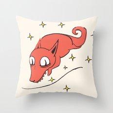 Foxy Woxy Throw Pillow