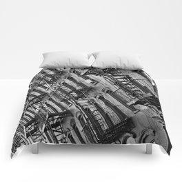 Fire escapes Comforters
