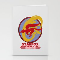 starfox Stationery Cards featuring Mercenary Unit - Starfox by TomStreetArt
