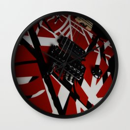The EVHFrankenstein Guitar Wall Clock