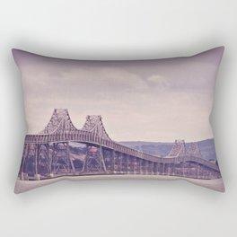 San Fran Bay Bridge Rectangular Pillow