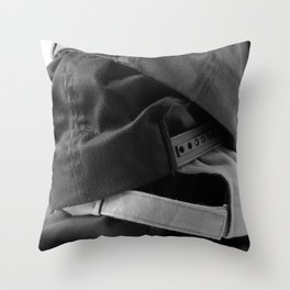 Stack of Hats Throw Pillow
