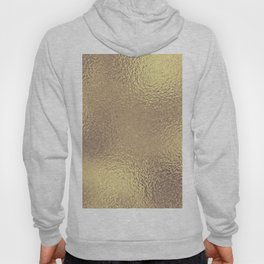 Simply Metallic in Antique Gold Hoody