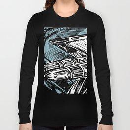 CADILLAC TAIL FIN Long Sleeve T-shirt