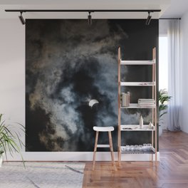 Partial Solar Eclipse Wall Mural