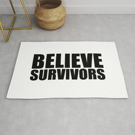Believe Survivors Rug