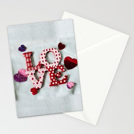 LOVE photography print Stationery Cards