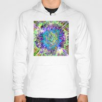 tie dye Hoodies featuring Abstract Colorful Tie Dye by Phil Perkins