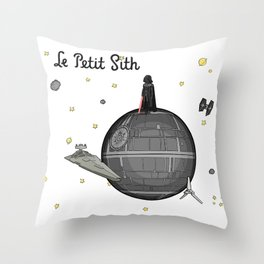 Le Petit Sith Throw Pillow