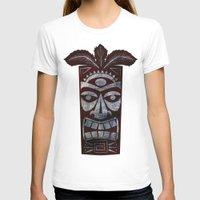 tiki T-shirts featuring Tiki arg by Georgina Dominguez