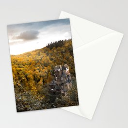 Castle in the Woods 3 Stationery Cards