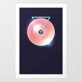 Melting Point Art Print